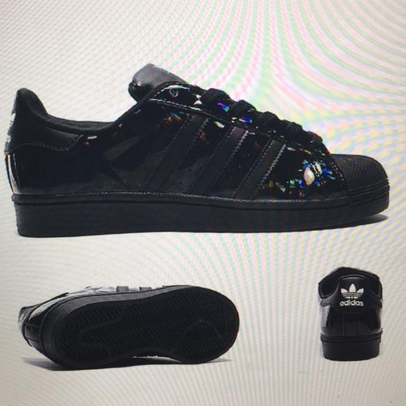 adidas Shoes | Big Iso Black Iridescent